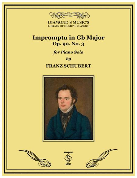 Impromptu No.3 in Gb Major - Franz Schubert - Piano Solo