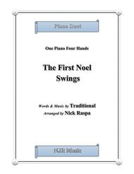 The First Noel Swings (1 piano 4 hands) early intermediate