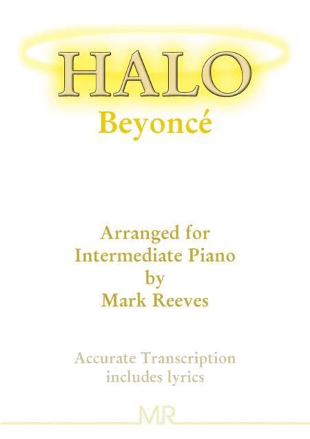 Halo - piano solo
