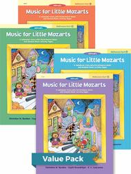 Music for Little Mozarts Halloween Fun! Books 1-4 (Value Pack)
