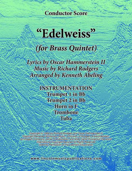 Edelweiss (for Brass Quintet)