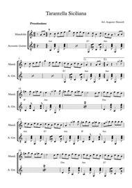 Download Tarantella Siciliana Sheet Music By Public Domain