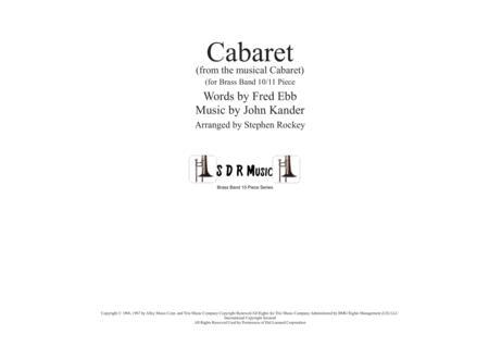 Cabaret for Brass Band 10 Piece