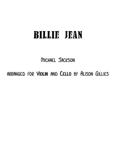Billie Jean - String Duo (vln/vc)
