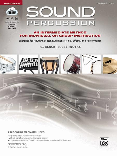 Sound Percussion--An Intermediate Method for Individual or Group Instruction