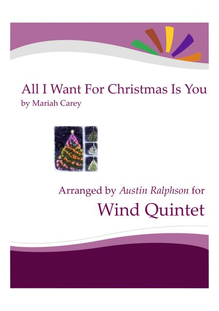 All I Want For Christmas Is You - wind quintet