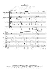 Landslide (SSAA unaccompanied womens' choir)