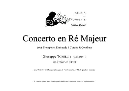 Concerto in D for trumpet, strings & continuo