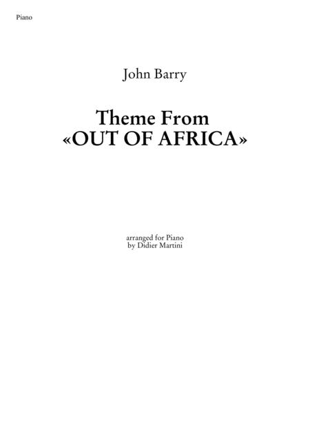 Theme from Out of Africa
