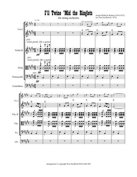 I'll Twine 'Mid the Ringlets