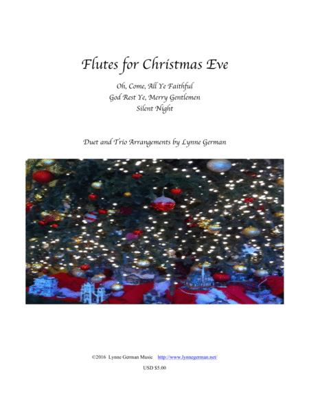 Flutes for Christmas Eve