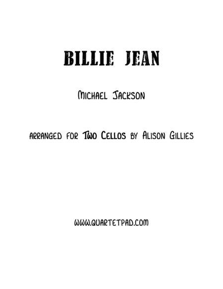 Billie Jean - Cello Duet