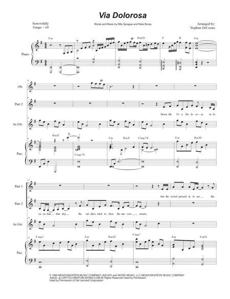 Via Dolorosa (for 2-part choir)