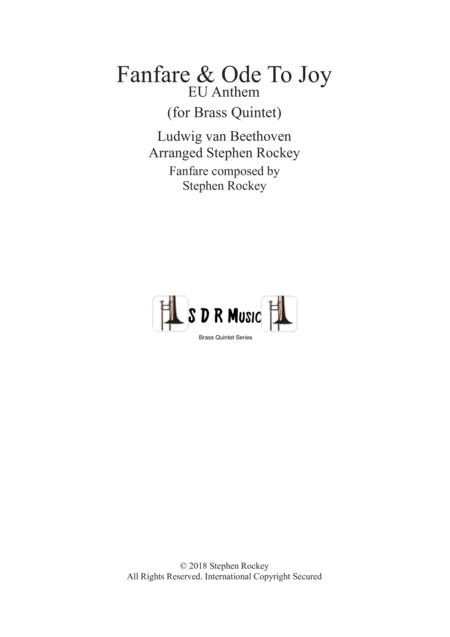 Fanfare and Ode To Joy for Brass Quintet