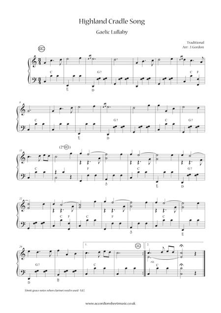 Highland Cradle Song