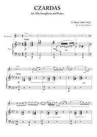 Czardas for Alto Saxophone and Piano