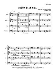 Brown Eyed Girl - String Trio (vln/vla/vc)