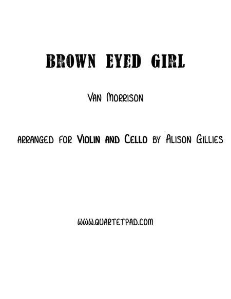 Brown Eyed Girl - String Duo (vln/vc)