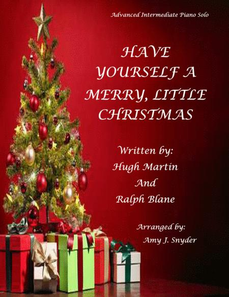 Have Yourself A Merry Little Christmas  from MEET ME IN ST. LOUIS, piano solo