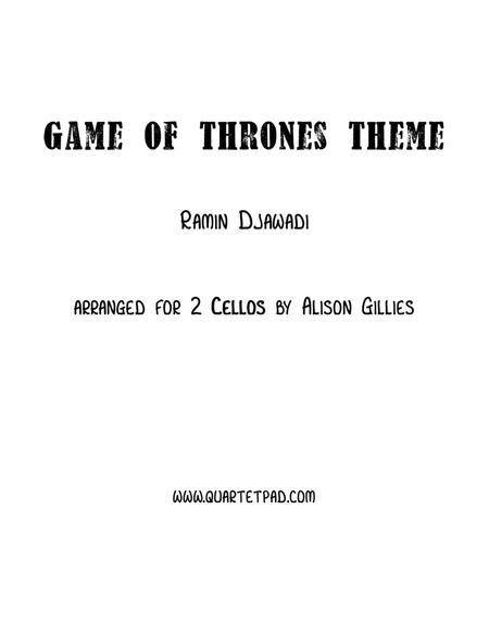 Game Of Thrones - Cello Duet