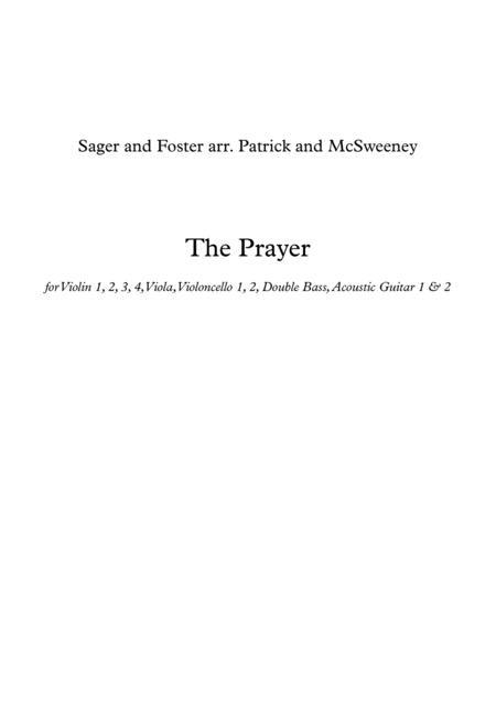 The Prayer - String Ensemble