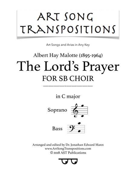 The Lord's Prayer (for 2-part choir)