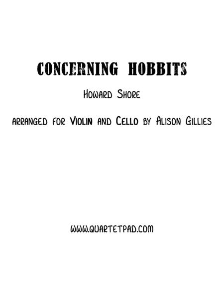 Concerning Hobbits from THE LORD OF THE RINGS - String Duo (vln/vc)