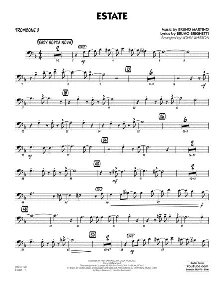 Estate - Trombone 3