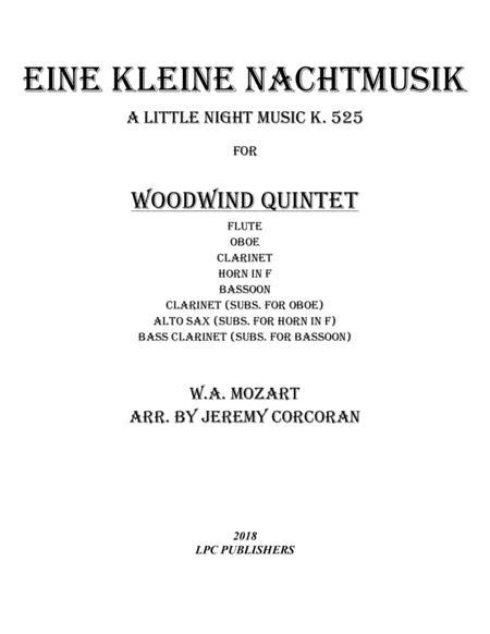 Eine Kleine Nachtmusik for Woodwind Quintet