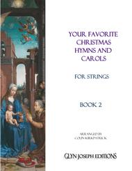 Your Favorite Christmas Hymns and Carols for Strings, Book 2