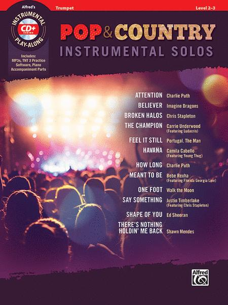 Pop & Country Instrumental Solos Trumpet
