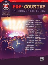 Pop & Country Instrumental Solos Trumpet