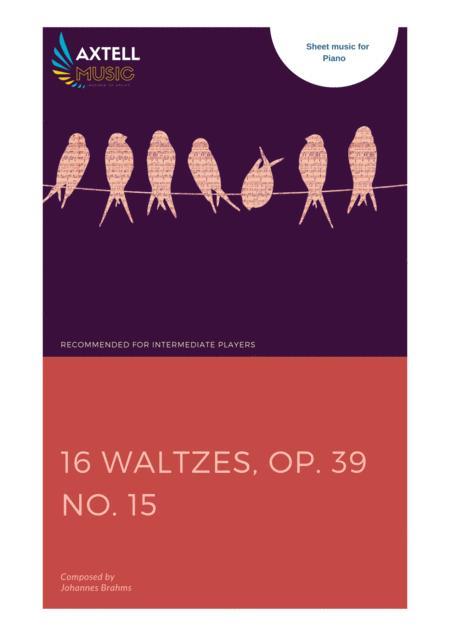 16 Waltzes, Op. 39 No. 15
