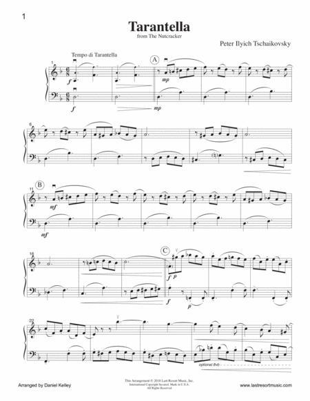 Preview Tarantella From The Nutcracker For Violin Amp