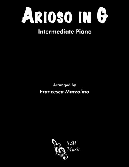 Arioso in G (Intermediate Piano)