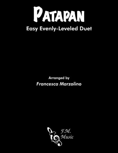 Patapan (Easy Piano Duet)