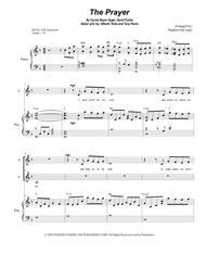 The Prayer (for 2-part choir - (SA)
