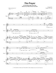 The Prayer (for 2-part choir)