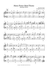 Harry potter hedwig's theme clarinet sheet music – guitar chords.