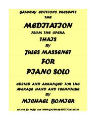 Meditation from the opera