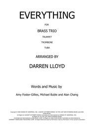 Everything - Brass Trio