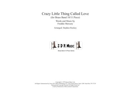 Crazy Little Thing Called Love for Brass Band 10/11 Piece