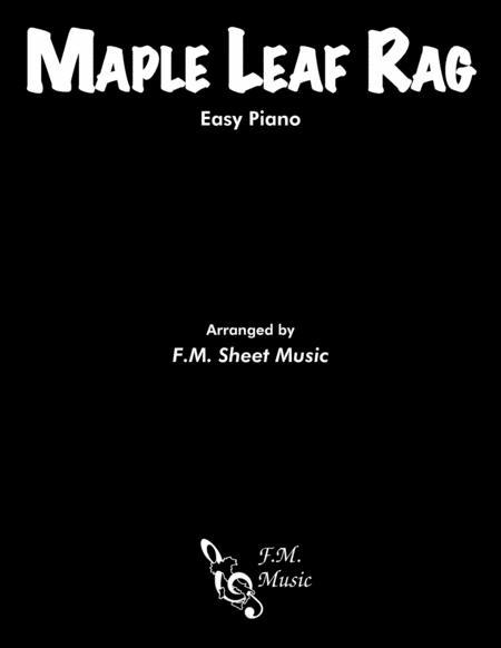Maple Leaf Rag (Easy Piano)