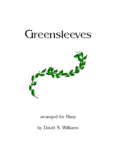Greensleeves Harp Solo