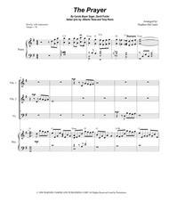 The Prayer (for String Quartet and Piano)