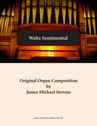 Waltz Sentimental - Organ Solo