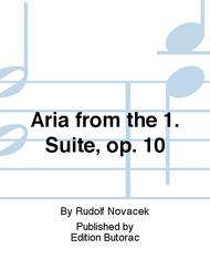 Aria from the 1. Suite, op. 10
