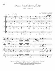 Dream A Little Dream Of Me for SSAA a cappella quartet