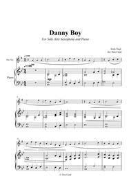Danny Boy for Solo Alto Saxophone and Piano