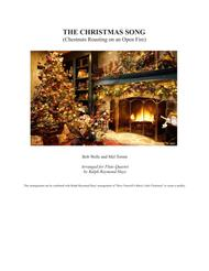 The Christmas Song (Chestnuts Roasting On An Open Fire) for Flute Quartet